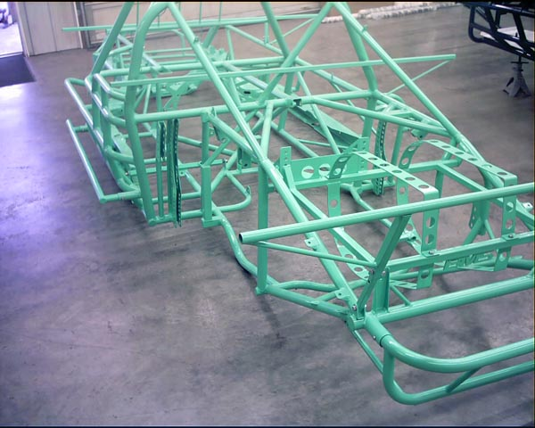 dirt race car chassis setup